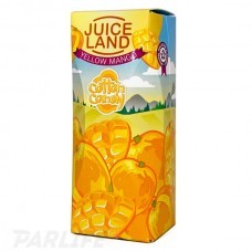 Cotton Candy Juiceland - Yellow Mango 100ml (0mg+3mg никобустер)